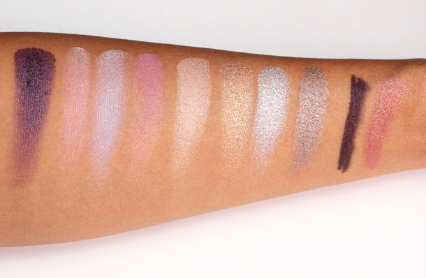 Urban Decay Oz Glinda Palette swatches