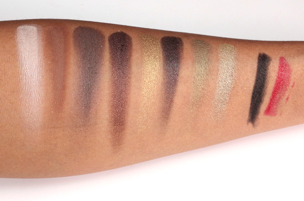 Urban Decay Oz Theodora Palette swatches