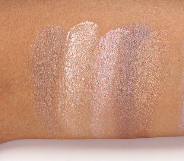 Benefit Creaseless Cream Shadows Swatches