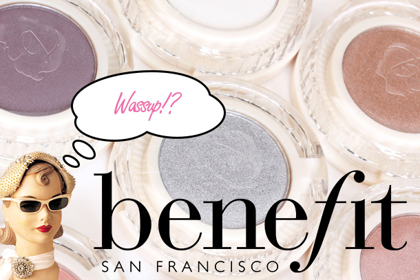 The New Benefit Longwear Powder Shadows