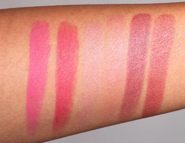 chanel printemps precieux de chanel lip swatchesa