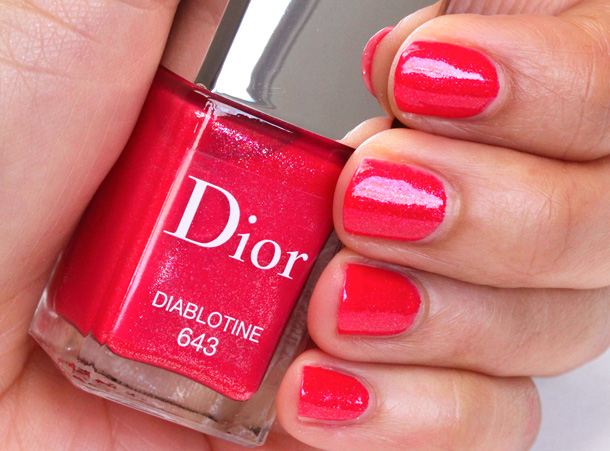 Dior Diablotine Vernis Swatch