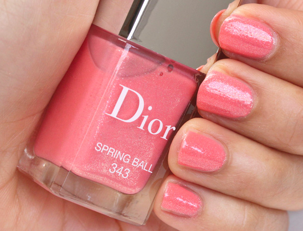Dior Spring Ball Vernis Swatch