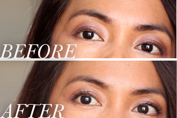 diorshow iconic overcurl mascara before and after