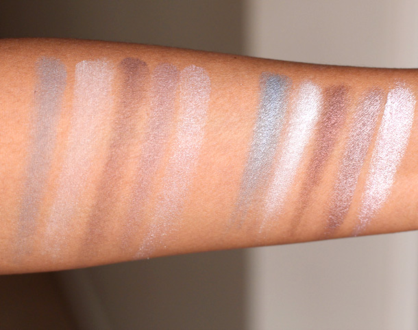 laura mercier free spirit baked eye colour palette swatches