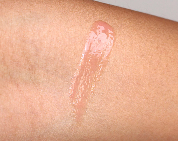 mac mineralize tinted lip balm pure tender swatch