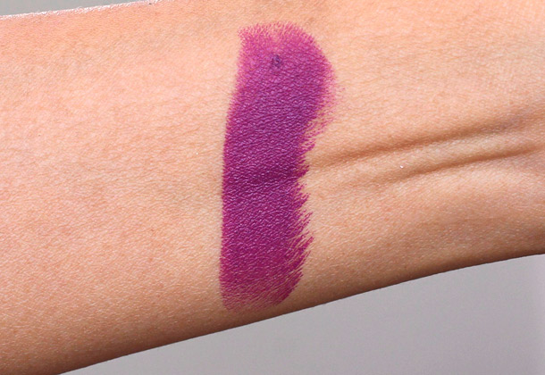 MAC Strong Woman Lipstick swatch