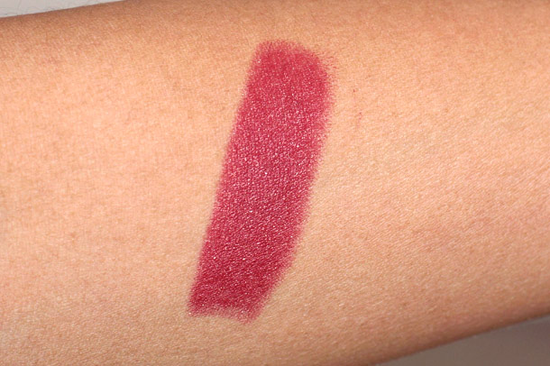 nars dressed to kill lipstick swatch