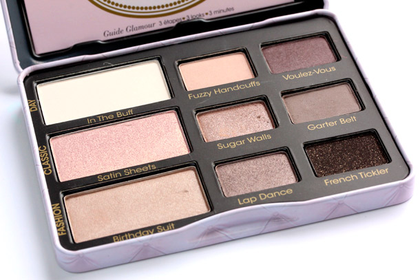 Too Faced Boudoir Eyes Soft & Sexy Eyeshadow Collection