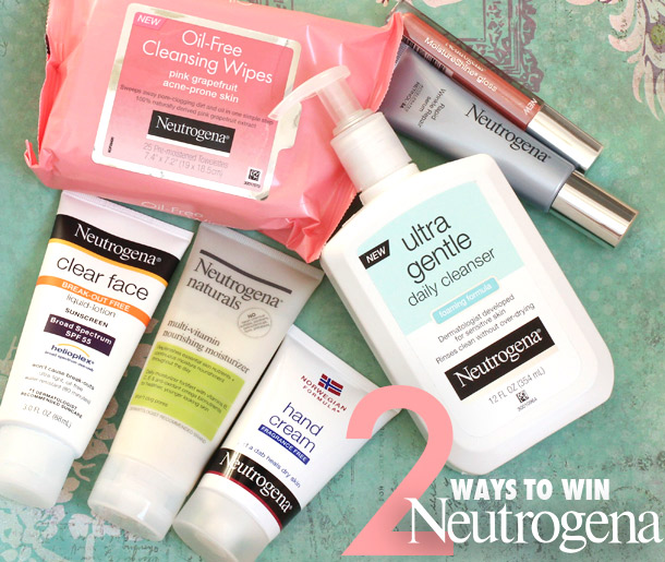 Two Ways to Win a Neutrogena Gift Basket Worth $75