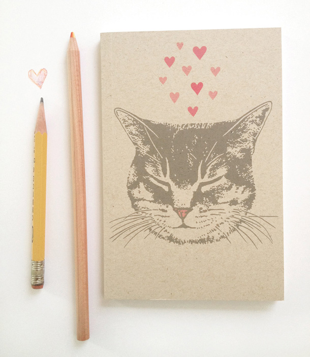 16 Cute Tabby Cat Journal