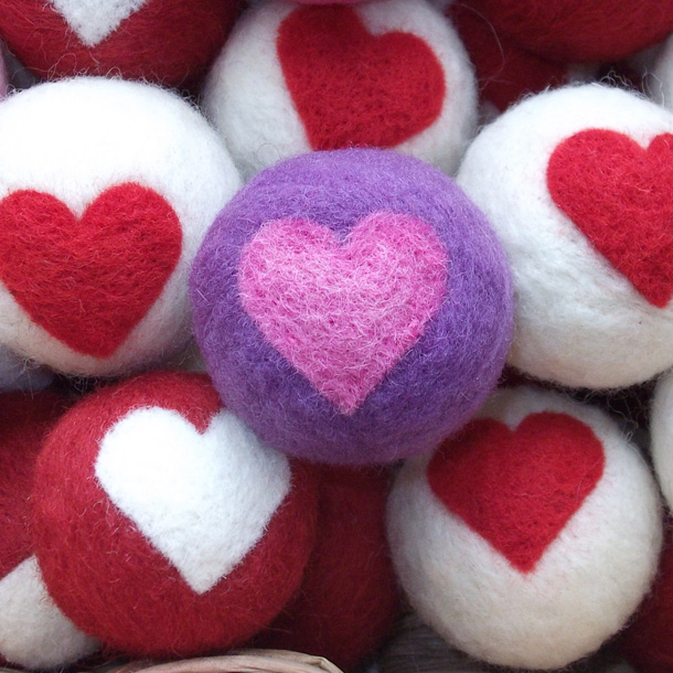 19 Valentine Catnip Wool Cat Toy