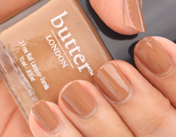 Butter London Tea & Toast Swatch