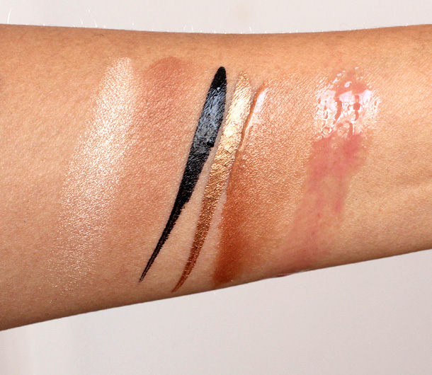 Estee Lauder Bronze Goddess Collection 2013 swatches 2