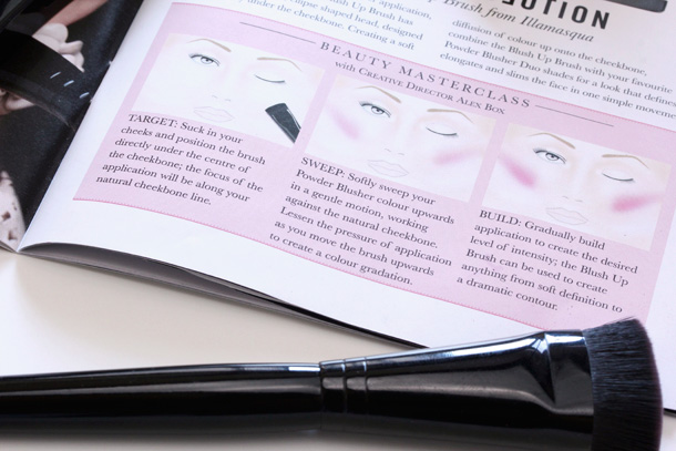 Illamasqua Blush Up Brush Instructions