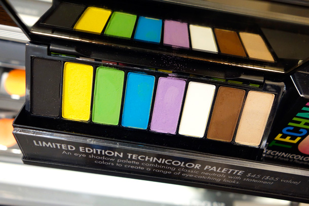 Make Up For Ever Technicolor Palette 1
