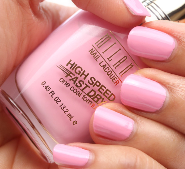 Milani High Speed Fast Dry in Pink Express Swatch