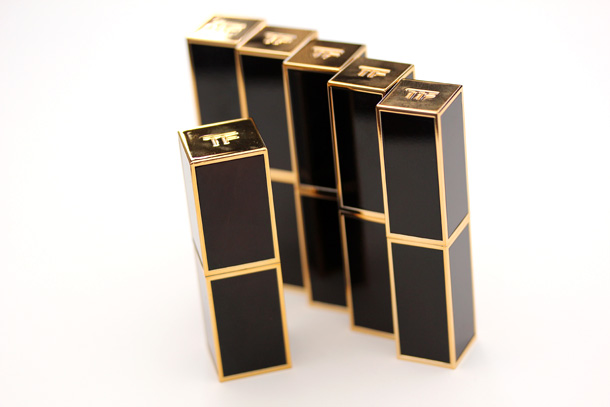 Tom Ford Lip Color Shine with lipstick