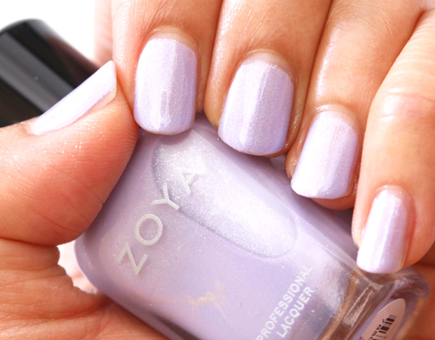 Zoya Julie Swatch from the Zoya Lovely Collection