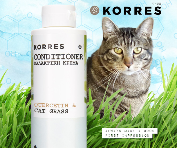 Tabs for Korres Quercetin & Cat Grass Conditioner