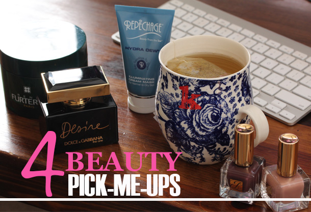 Four Monday Beauty Pick-Me-Ups From René Furterer, Repêchage, Dolce & Gabbana and Estée Lauder