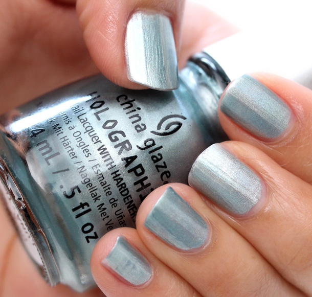 China Glaze Hologlam in Don't Be a Luna-Tic
