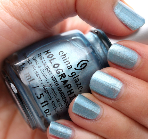 China Glaze Hologlam Sci-Fly By
