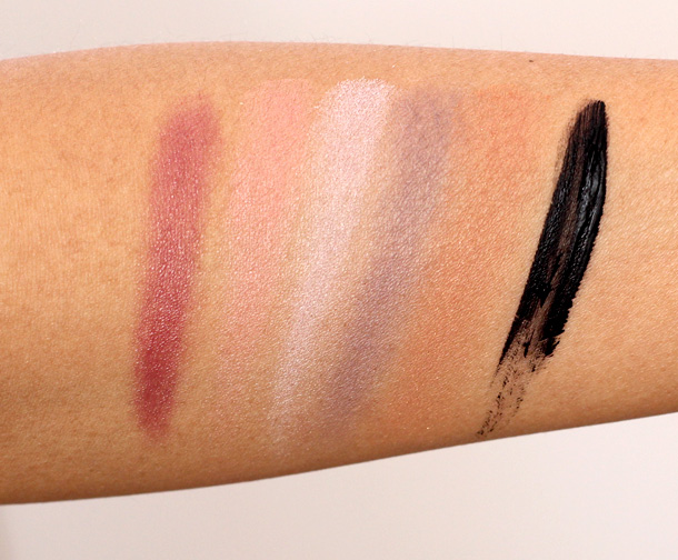 Clinique Gift With Purchase Spring 2013 swatches