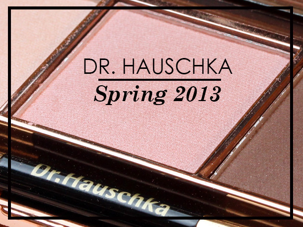 Dr. Hauschka Limited Edition Spring 2013 Collection Eyeshadow Trio