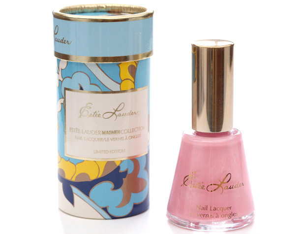 Estee Lauder Mad Men Nail Lacquer Pink Paisley