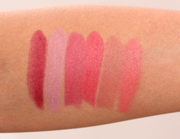 MAC MIneralize Rich Lipstick Swatches