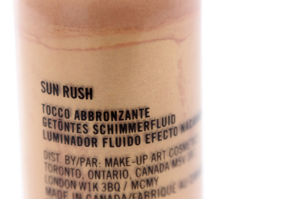 Mac Unsung Heroes Sun Rush Lustre Drops Makeup And