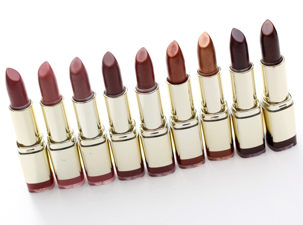 Milani Color Statement Lipstick Naturals & Browns