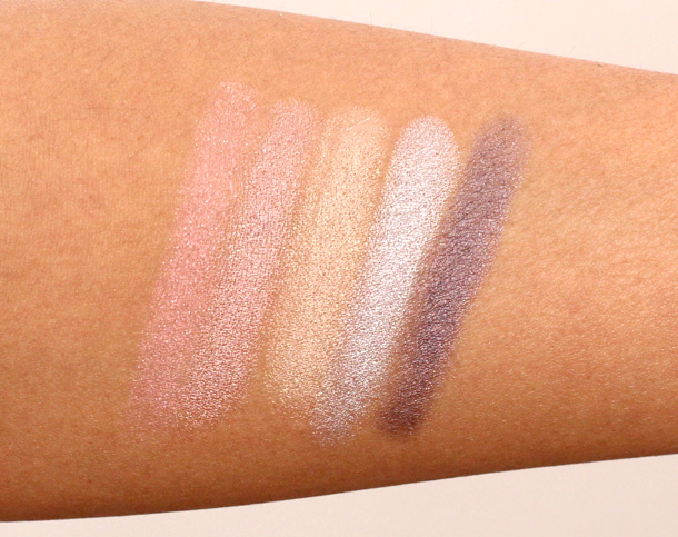Neutrogena Crease Proof Eye Shadow Swatches
