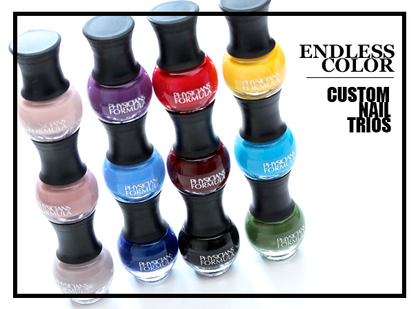Physicians Formula Endless Color Custom Nail Trios