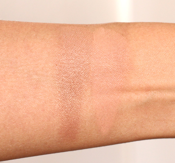 Too Faced Endless Summer 16 Hour Long-Wear Bronzer and Too Faced Bronzed & Poreless Pore Perfecting Bronzer swatches 5