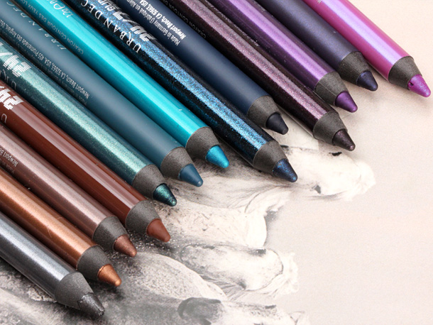 Urban Decay 24 7 Glide On Eye Pencils relaunch 2013 previous all