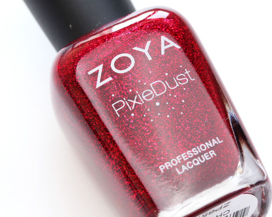 Zoya's Pixie Dust Nail Polish in Chyna big