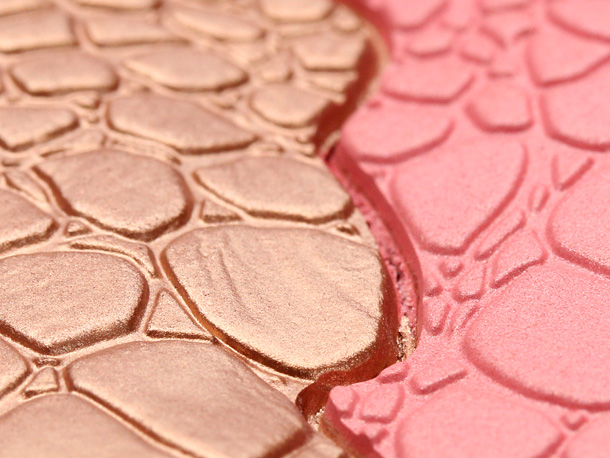 Sonia Kashuk's Chic Luminosity Bronzer/Blush Duo in Glisten closeup