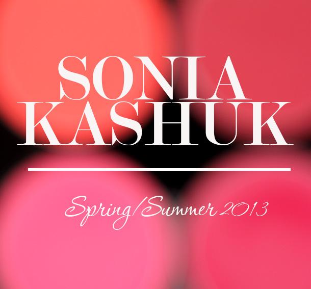 sonia kashuk spring summer 2013