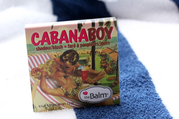 theBalm Cabana Boy Blush box front