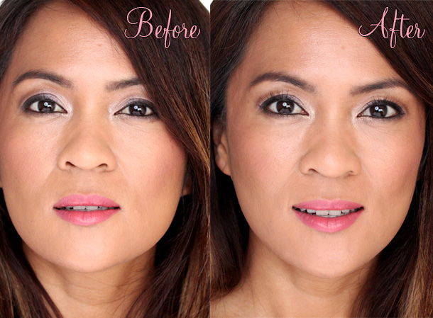 Too Faced Cosmetics Better Than False Lashes Before and After