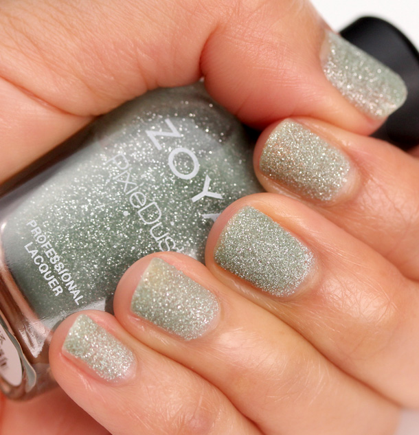 Zoya Pixie Dust in Vespa Swatch