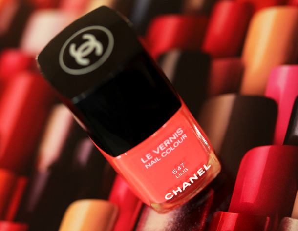 Chanel L'Été Papillon de Chanel collection for summer 2013: Lilis Nail Polish