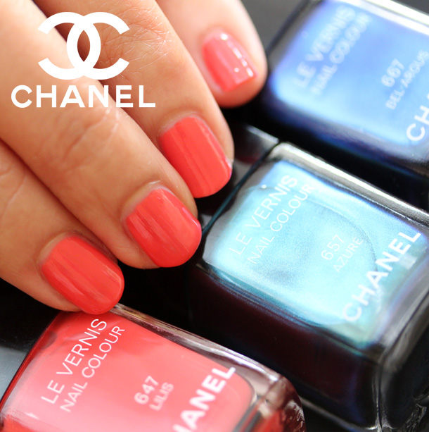 Chanel Lilis Nail Polish Swatch