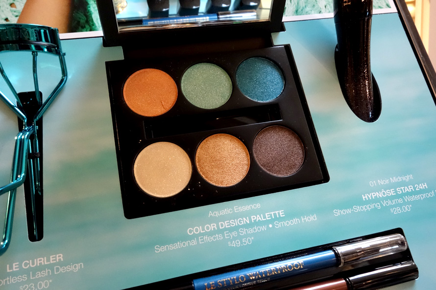 Lancome Aquatic Essence Eye Palette 890
