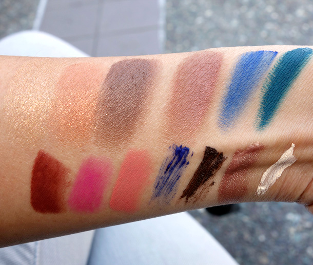 Laura Mercier Folklore Collection Swatches