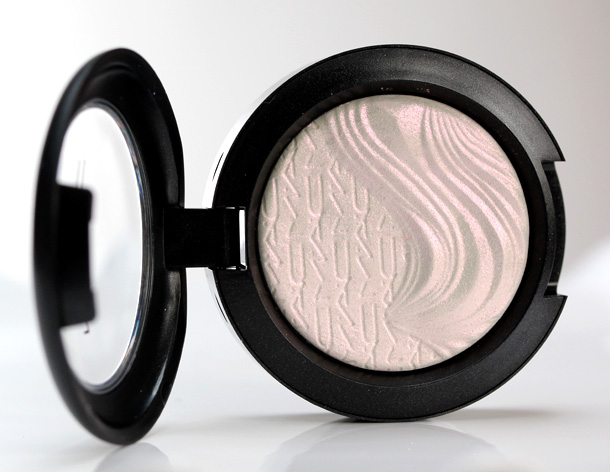 MAC Extra Dimension Eye Shadow in Opalesse, a opalescent white with white pearl