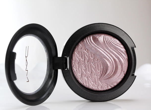 MAC Extra Dimension Eye Shadow in Smoky Mauve, a mid-tone cool mauve
