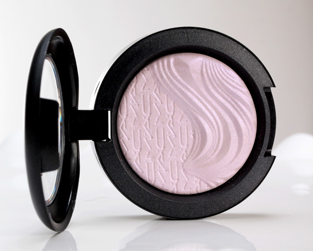 MAC Extra Dimension Eye Shadow in Triple Impact, a opalescent lavender with violet pearl